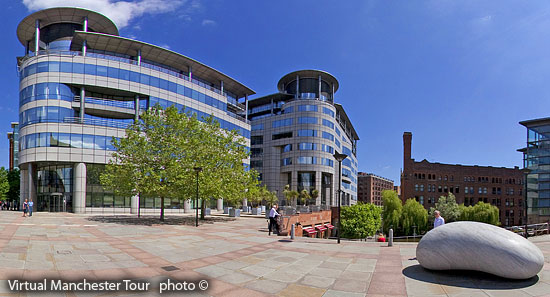 Manchester city centre offices